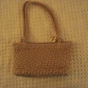 The Sak -  Woven Crochet Knit Baguette